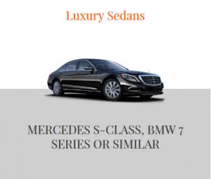 Mobile Luxury Sedan - Mercedes S-Class, BMW7 Series or similar